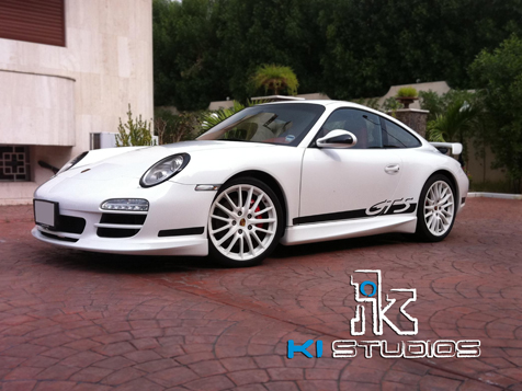 Porsche Carrera S TechArt Kit side stripe GTS