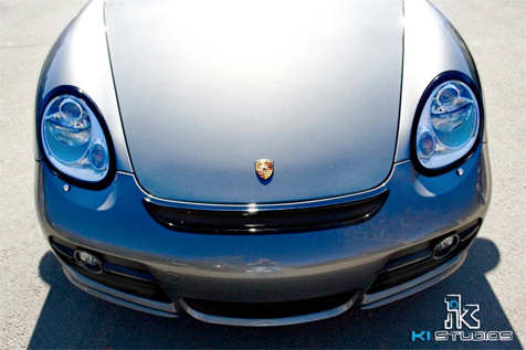 Porsche Cayman Headlight Covers