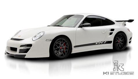 Vorsteiner VRT Edition 997 Turbo stripe front