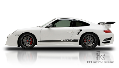 Vorsteiner VRT Edition 997 Turbo stripe side