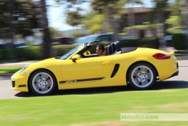 2012 Porsche 981 Boxster S Stripes