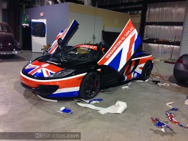 McLaren Mp4-12C Wrap Design