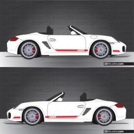 Porsche 987 Boxster Strip Kit 002