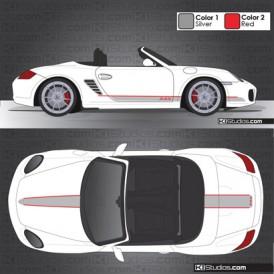 Porsche 987 Boxster Stripe Kit 005