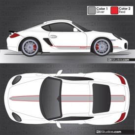 Porsche 987 Cayman Stripe Kit 006
