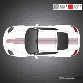 Porsche 987 Cayman Stripe Kit 008