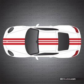 Porsche 987 Cayman Stripe Kit 009