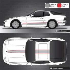 Porsche 944 Stripe Kit 001