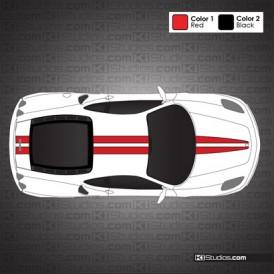 Ferrari F430 Stripe Kit 002