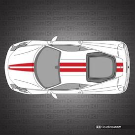 Ferrari 458 Scuderia Stripe 001