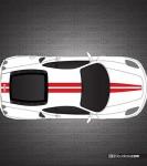 Ferrari F430 Scuderia Stripe Kit 001