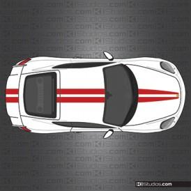 GT4 Racing Stripe Decals 006